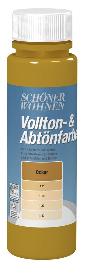 Vollton- und Abtönfarbe Ocker 250 ml