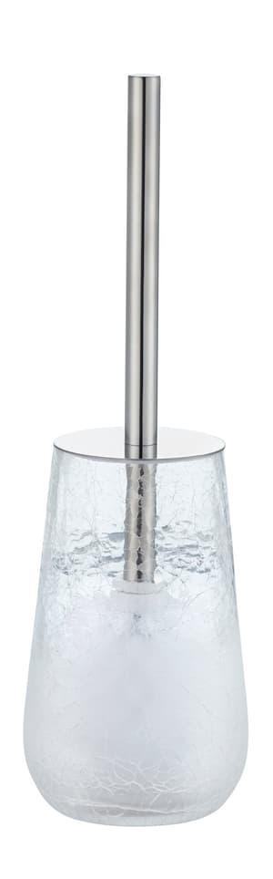 WC-Bürstengarnitur crushed Glas