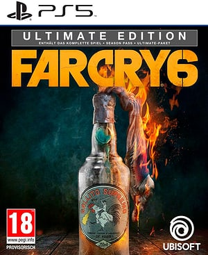 PS5 - Far Cry 6 -- Ultimate Steelbook Edition
