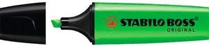Boss Surligneur Original 70/33 vert 2-5mm