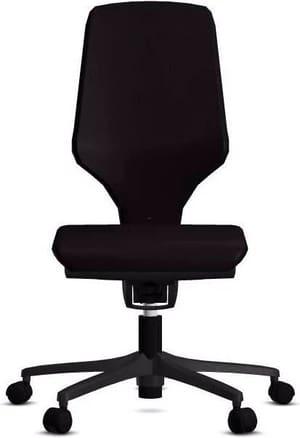 Chaise bureau 64-3578 64-3578 noir, sans accoudoir