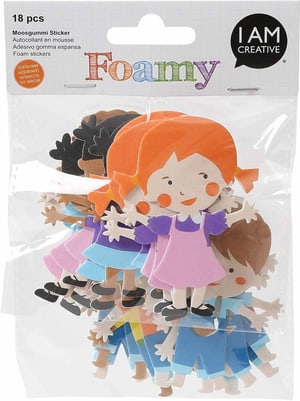 FOAMY, bambini, 18 pezzi