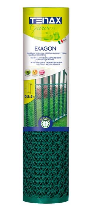 Kunststoffgitter EXAGON 05 grün