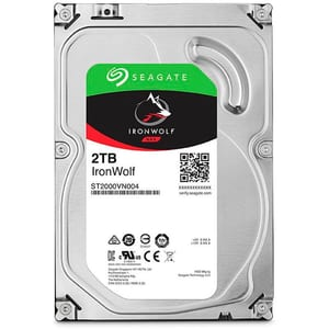 IronWolf 2TB disco rigido interno SATA 3.5""