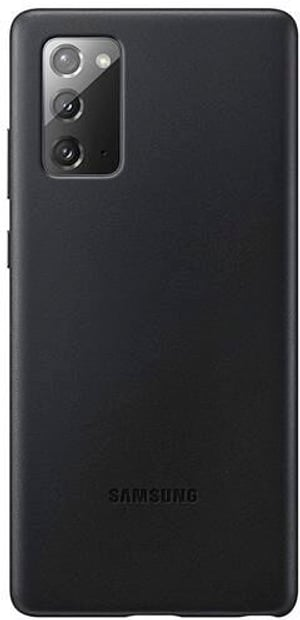 Leather Cover Note 20 black