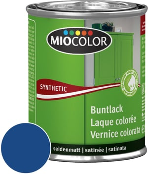 Synthetic Laque colorée satinée Bleu gentiane 750 ml