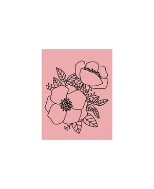 M&B Stamp, Flowers