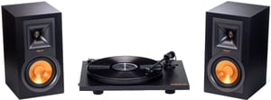 Klipsch R-15PM mit Lautsprecher Plattenspieler Set