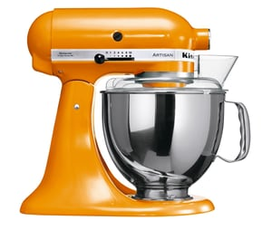 Küchenmaschine Artisan KSM 150 Jubiläums Set orange