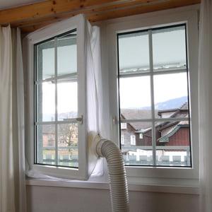 Kit fenêtre accessoire per evacuation de l'air