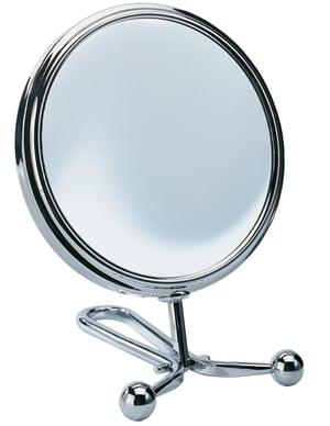 Specchio per cosmesi universale cromo Ø 12.5 cm