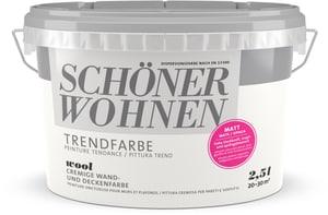 Trend Wandfarbe matt Wool 2.5 l
