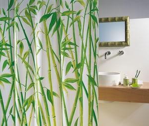 Duschvorhang  Bambus