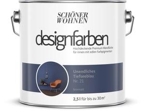 Designfarbe Tiefseeblau 2,5 l