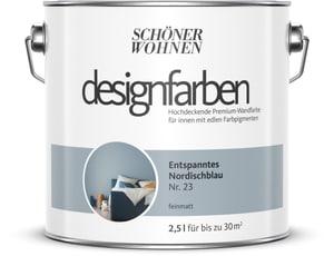 Designfarbe Nordischblau 2,5 l