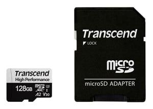 microSD Card 330S, 128GB SDXC inkl. Adattatore
