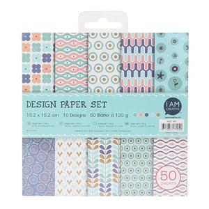 Paper Set I,15.2X15.2CM, 50 Blatt