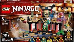 NINJAGO 71735 Le tournoi des éléments