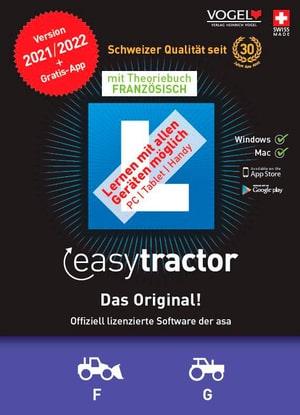 easytractor 2021/22 [Kat. F/G] inkl. Theoriebuch Französisch [PC/Mac] (F)