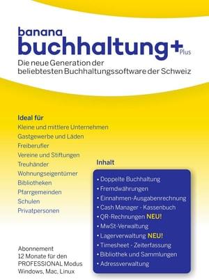 Banana Buchhaltung Plus [PC/Mac/Linux] (D)
