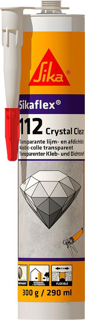 Sikaflex 112 Crystal Clear 290 ml