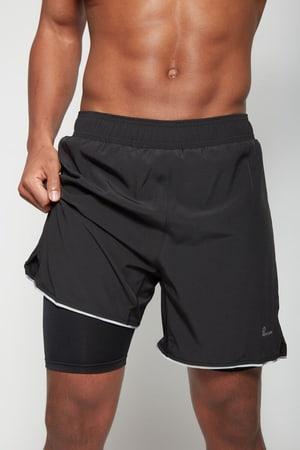 Herren-Shorts 2in1