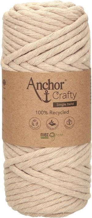 Makramee-Garn Anchor Crafty, beige