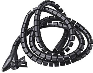 Tubo portacavi flessibile 3 m nero