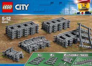 City 60205 Rails et virages