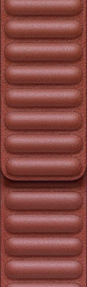 APPLE 44mm Saddle Brown Leather Link L