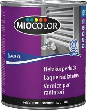 Laque acrylique mate pour radiateurs Blanc 750 ml