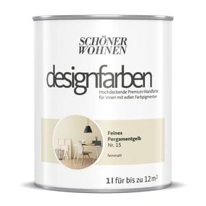 Designfarbe Pergamentgelb 1 L