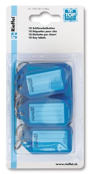 Etichette azzuro, 10 pezzi