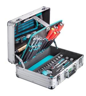 """Alu-Werkzeugkoffer """"PRO BOX"""" 127-tlg."""
