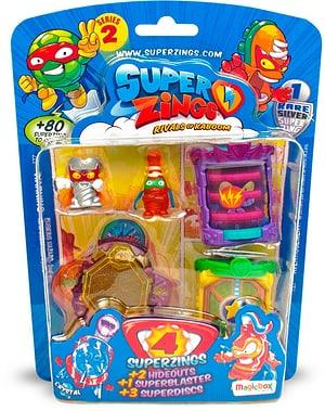 SuperZings Serie 2 Blister 4