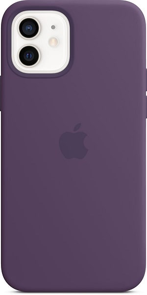 iPhone 12/12 Pro Silicone Case MagSafe Amethyst