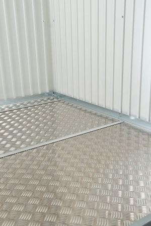 Plaque de fond de aluminium pour l'abri de jardin AvantGarde A2