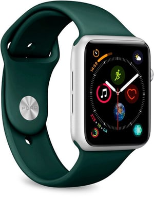 Icon Silicone Band - Apple Watch 42-44mm - dark green
