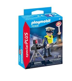 PLAYMOBIL 70305 Poliziotto con autovelox