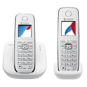Swisscom Aton CL113 Duo Telefon weiss/gr