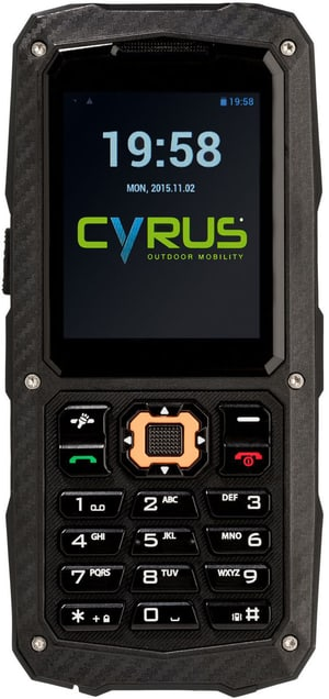 CM8 Dual SIM Solid Black
