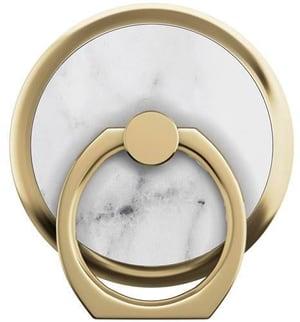 Selfie-Ring White Marble