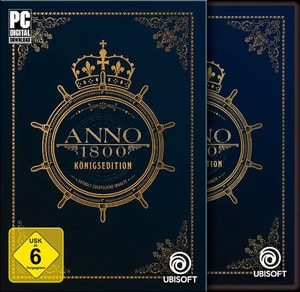 PC DVDROM ANNO 1800 edizione reale