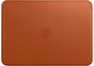 Leather Sleeve MacBook Saddle Brown
