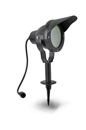 Easy Connect LED Proiettore alluminio nero, 10 W