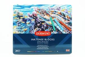24 Derwent Inktense Blocks