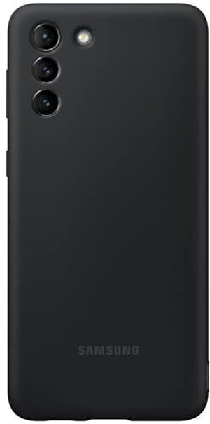 Silikon-Backcover  Silicone Cover Black