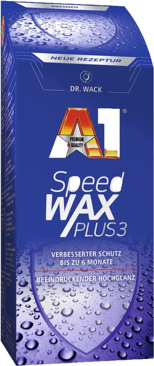 Speed Wax Plus 3