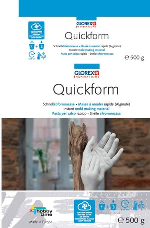 Pasta calco rapido Quickform 500g