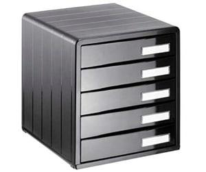 Bürobox 5 Schübe geschlossen Timeless